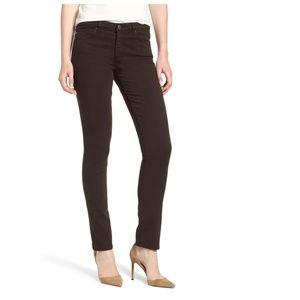 Brown AG jeans 27 R The Stilt Cigarette